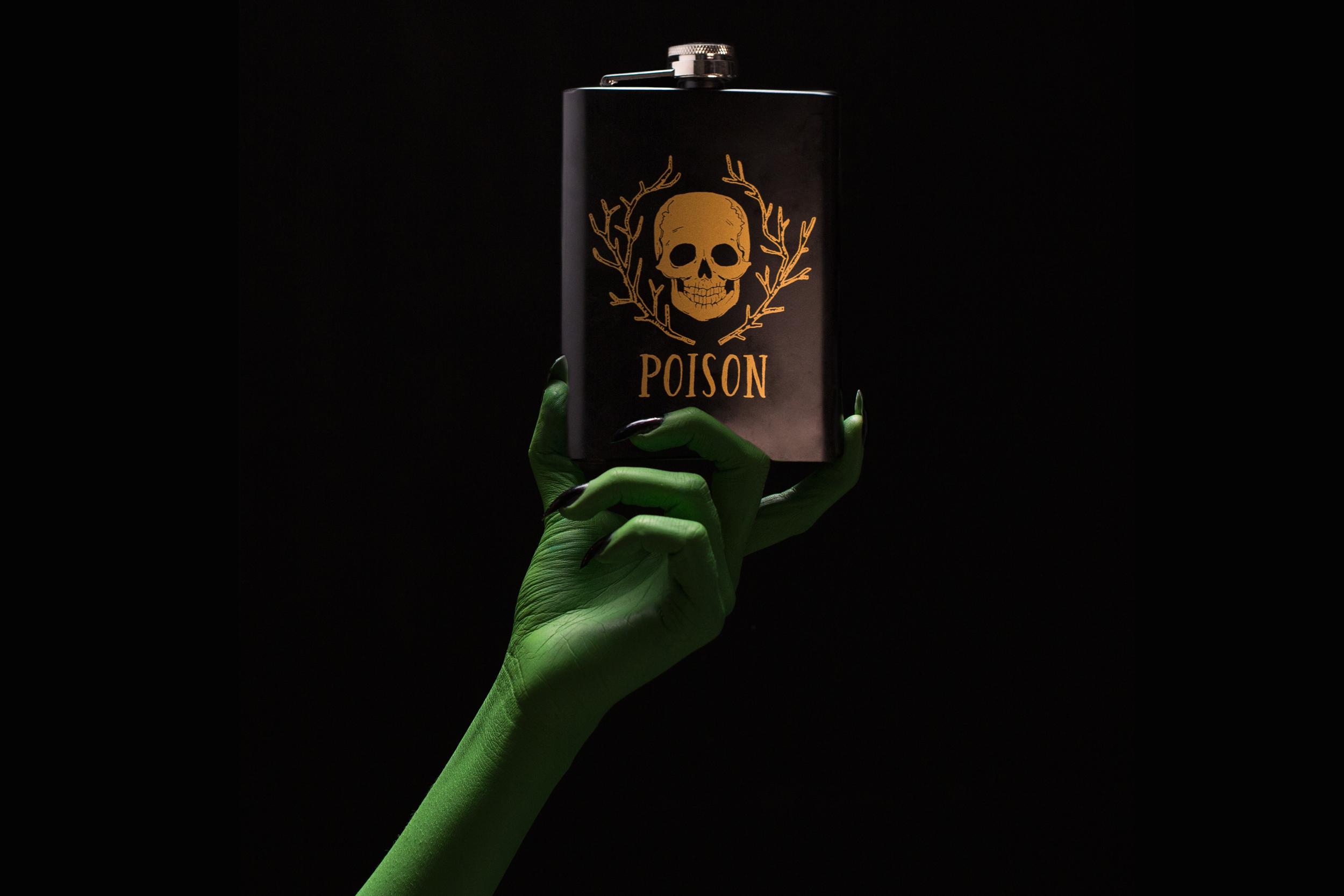 Hand_Candy_Corn_flask_crop